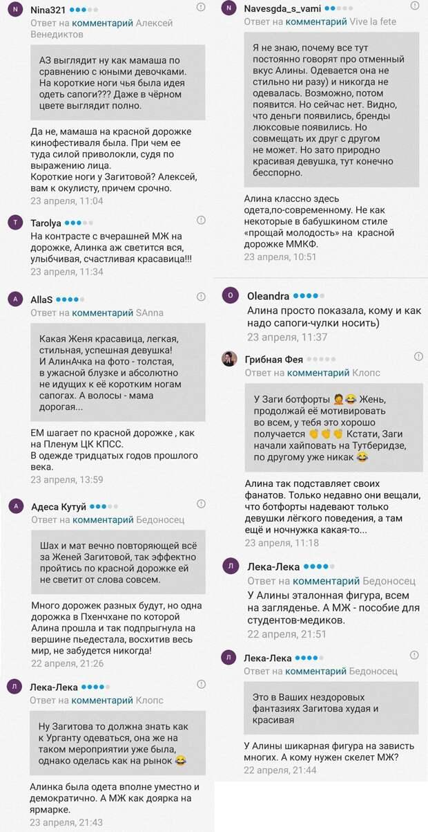 Болельщики раскритиковали Загитову и Медведеву за их одежду: фото