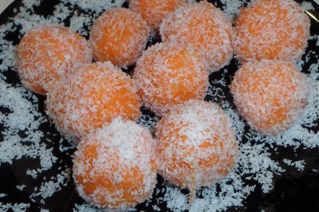 Конфеты из морковки. \ Фото: google.com.