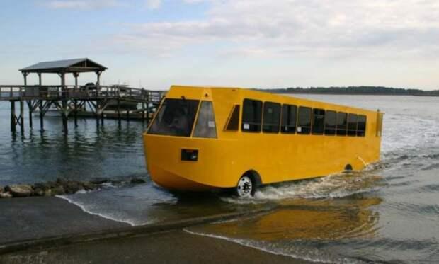 Челябинские ученые создают автобус-амфибию для Арктики