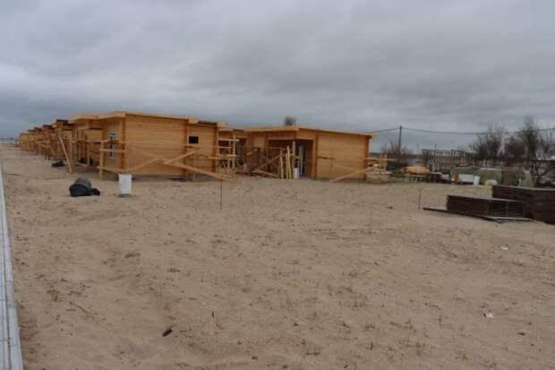 В Крыму возбудили уголовное дело из-за незаконной застройки пляжа в селе Витино