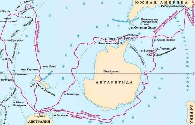 Человек, открывший Антарктиду