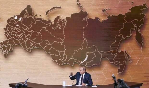 Проброс перед выборами: Политолог Калачёв об объединении регионов России