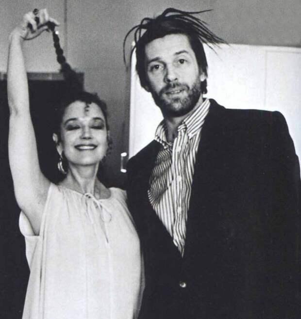 Ирина Алферова и Александр Абдулов. Начало 1970-х. Они ещё счастливы вместе.