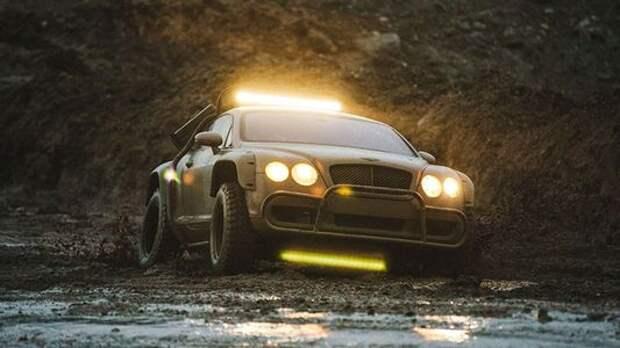 В Сети продали купе Bentley Continental GT, подготовленное для апокалипсиса