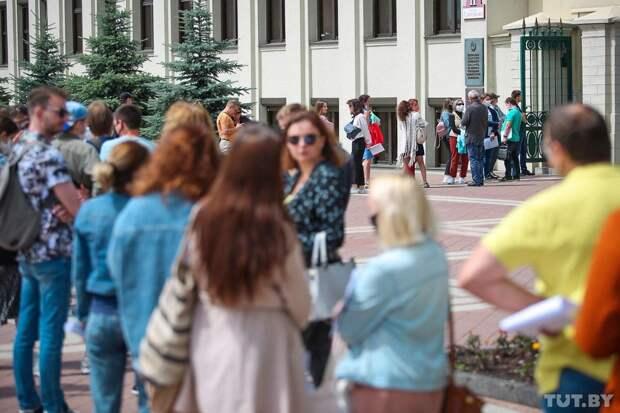Белорусский майдан погрустнел и пошёл на спад
