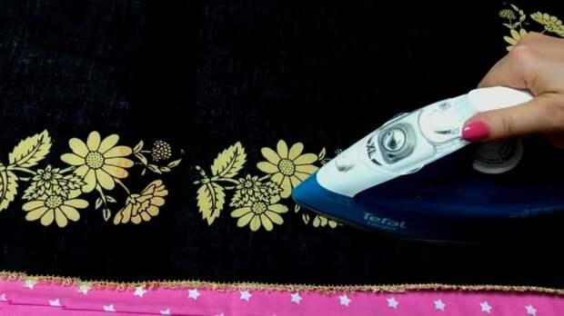Мешок из-под сахара: если к нему добавить ненужную ткань или платок получится очень практичная вещь