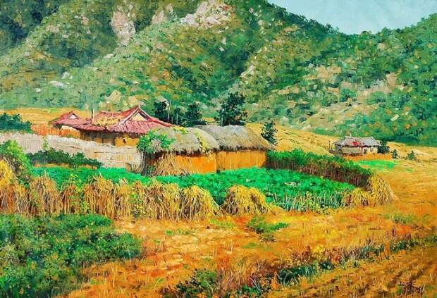 Художник Choi Seong Sik. Мастер современного корейского пейзажа