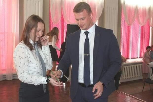 В городах Оренбургской области прошла церемония посвящения школьников в «роснефтята»