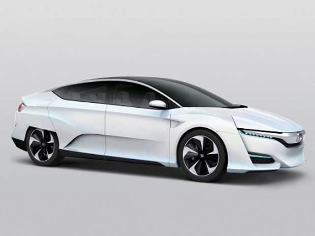 Honda представила водородный FCV