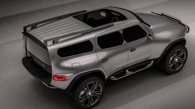УАЗ готовит линейку новых автомобилей на платформе Toyota Land Cruiser Prado