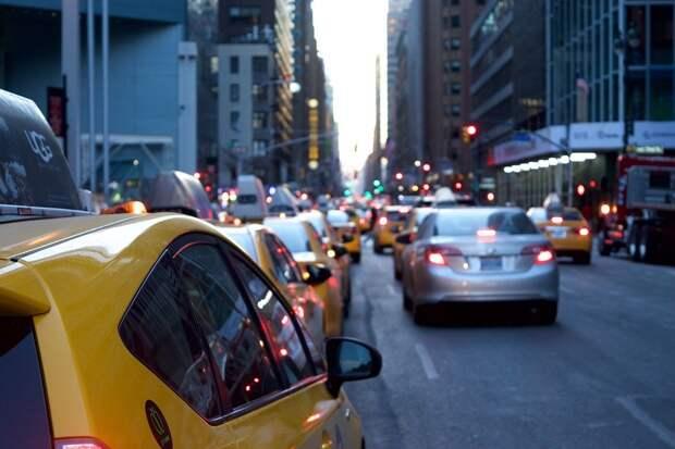 Такси, Транспортное Средство, Дороги, Город, Городских