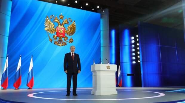 Путин в послании Федеральному собранию расскажет о задачах на постковидное время