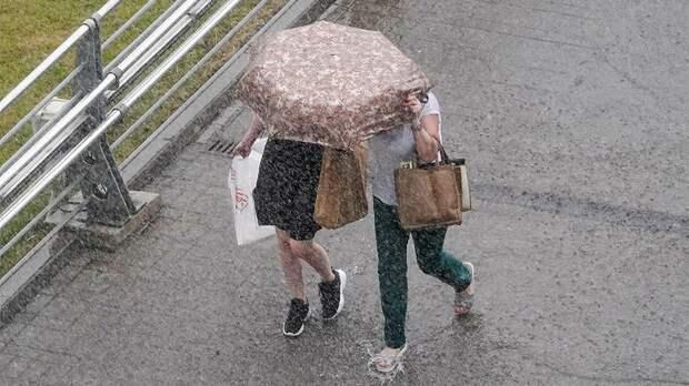 В Москве в воскресенье будет облачно и дождливо
