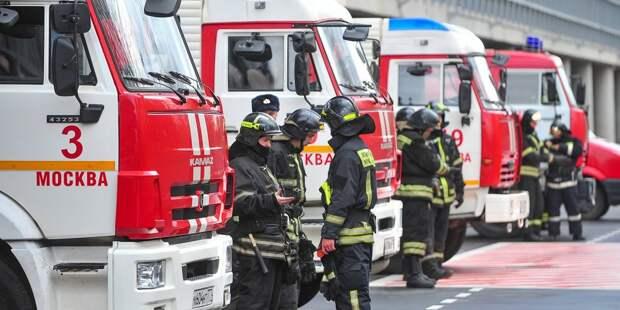 На Отрадную пожарные выехали по ложному вызову