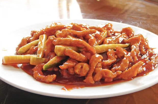 Лучшие мясные блюда китайской кухни