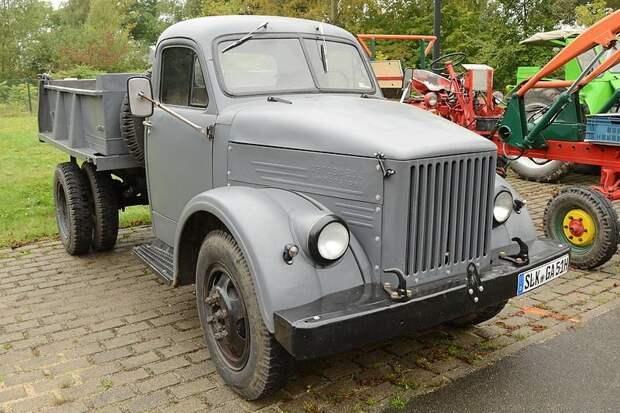ГАЗ-93 автомобили, газ, фоторепортаж