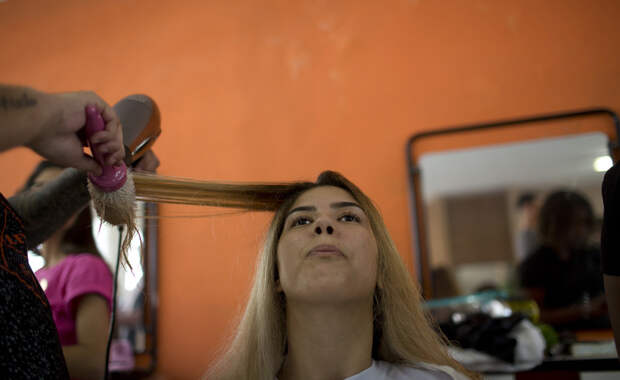 Ежегодный конкурс красоты в бразильской тюрьме