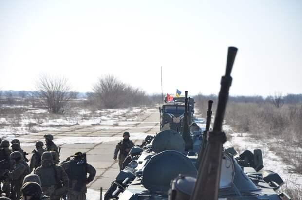Киевские боевики обстреляли территорию ДНР