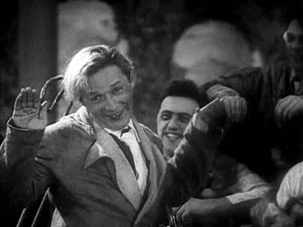 Леонид Утесов в фильме *Веселые ребята*, 1934 | Фото: kino-teatr.ru