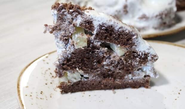 Торт Панчо с ананасом и сметанным кремом видео рецепт, влажный торт, десерт, еда, панчо, простой торт, торт