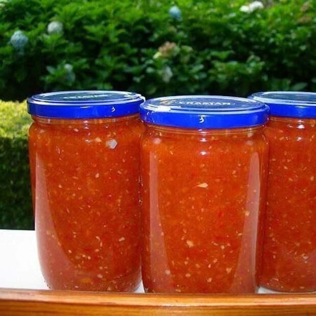 Домашний кетчуп Пряный