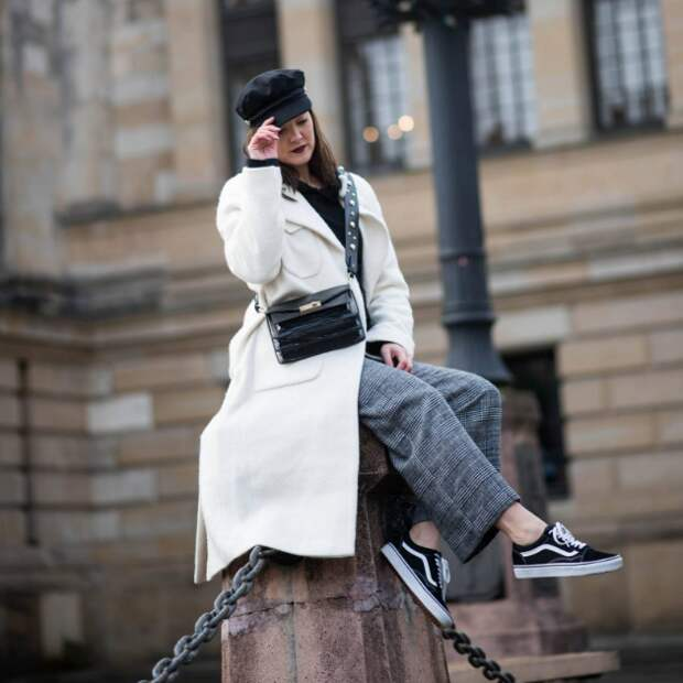 Пять стильных способов носить шотландку
