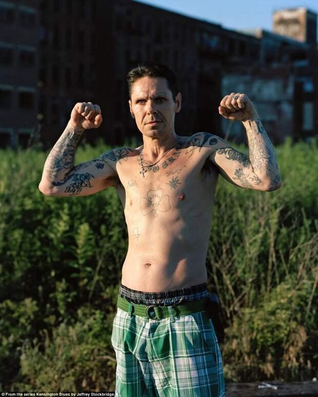 """Лица """"наркоманского"""" района Кенсингтон в Америке америка, люди, наркомания, наркоманы, сша, уличные фотографы, фото, фотограф"""