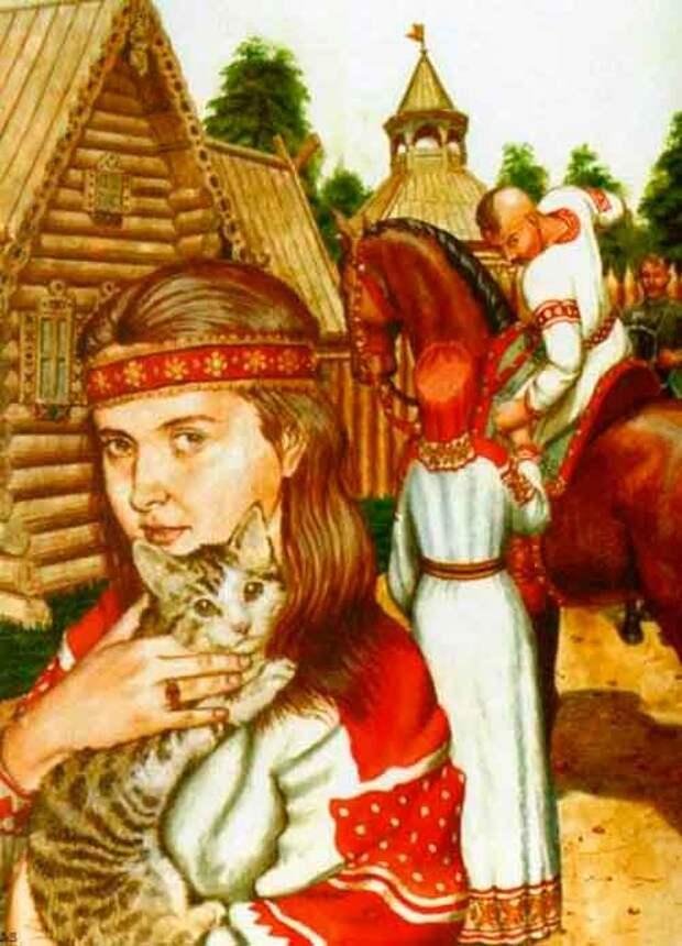 Лазарев Юрий картины художника-славяниста