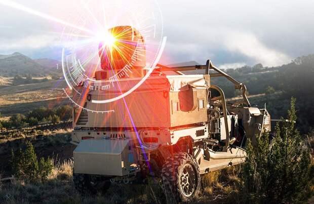 NI: США планирует сбивать беспилотники противника лазерным оружием