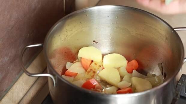 ОВОЩИ IrinaCooking, видео рецепт, грибной суп, еда, кулинария, рецепт, суп пюре