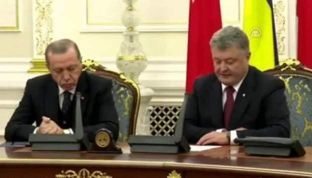 Сон одолел: Эрдоган Зевал и клевал носом под речь Порошенко | Продолжение проекта «Русская Весна»