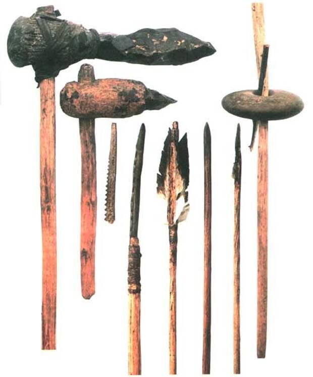Первые орудия