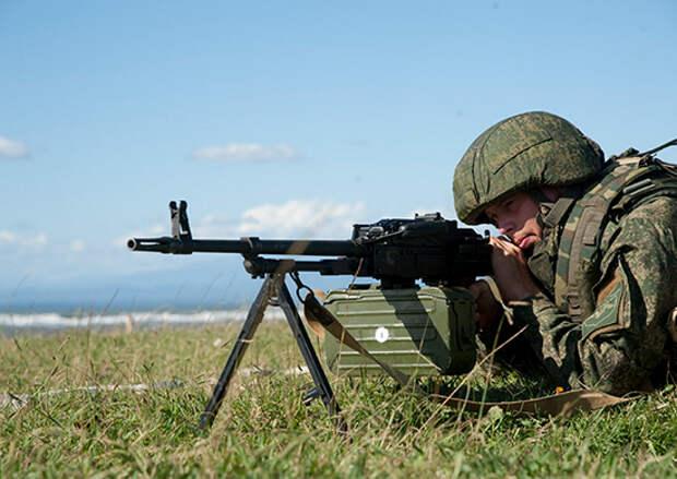 На российской военной базе ЮВО в Абхазии количество военнослужащих по контракту возросло на 15%