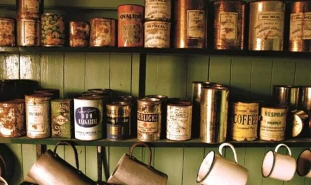 Коллекция консервных банок конца 19 - начала 20 веков. / Фото: zen.yandex.ru