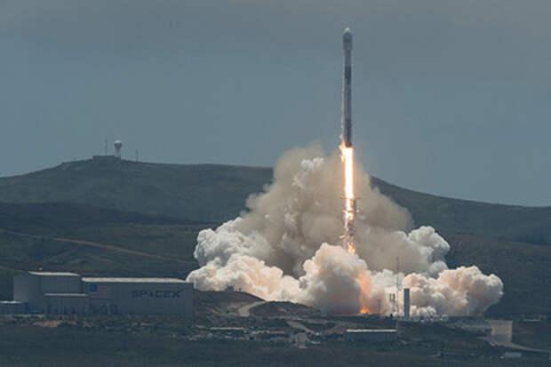 Ракеты Ariane 5 и Falcon 9 одновременно стартовали