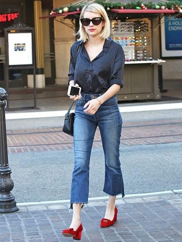 Неподшитые джинсы на пике популярности