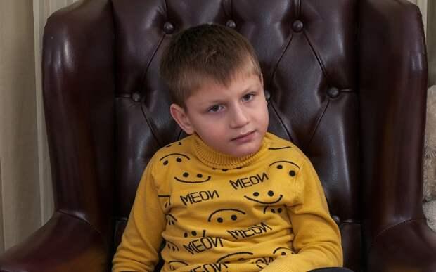 Десятилетнему Сереже из Крымска нужна помощь