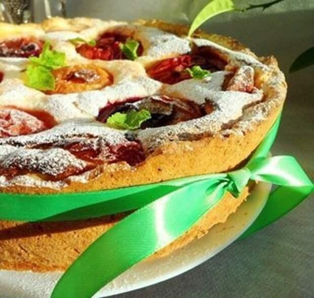 Страсбургский пирог с персиковым настроением