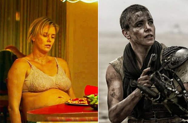 Шарлиз Терон в фильмах «Талли» и «Безумный Макс. Дорога ярости»