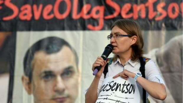 Сестра Сенцова убежала из Украины