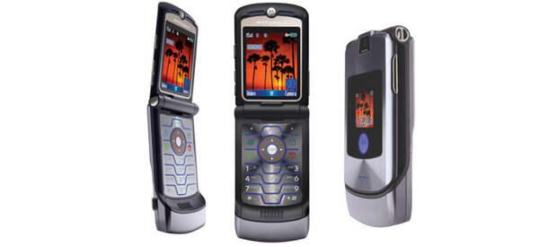5. Motorola RAZR V3 (2004, $650) история, телефон, факты