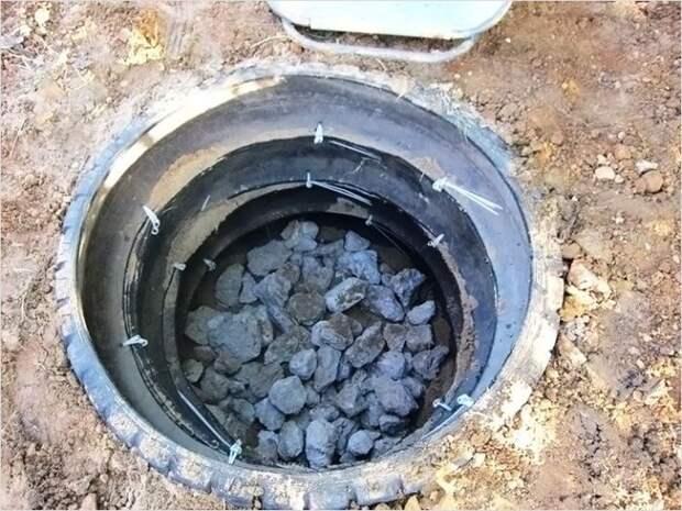 Самая дешевая канализация для дачи.
