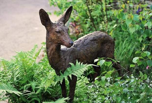Садовая скульптура в миниатюре