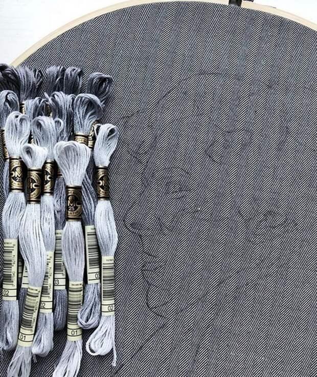 вышивка шерлока камбербертча