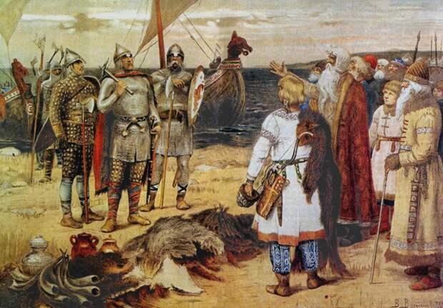 Викинги. Жизнь до христианства