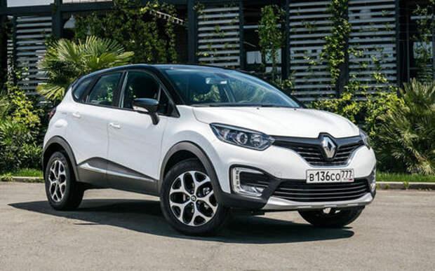 Самая дешевая версия Renault Kaptur получила вариатор