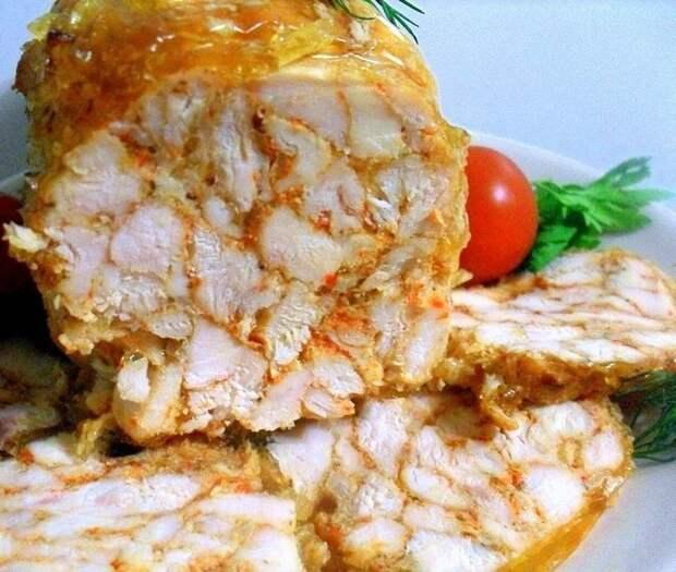 Куриный рулет: вкусная и полезная замена колбасе