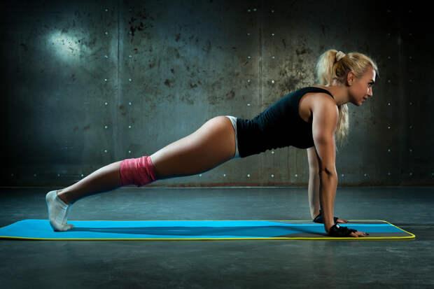 Если вам не жалко потратить на идеальное тело 4 минуты в день, попробуйте это упражнение!