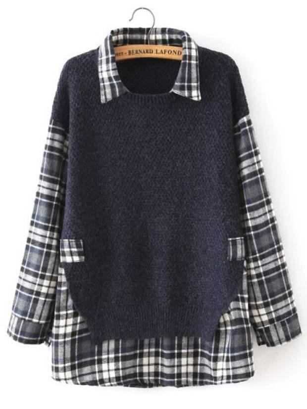 переделка рубашки и свитера своими руками изменение размера