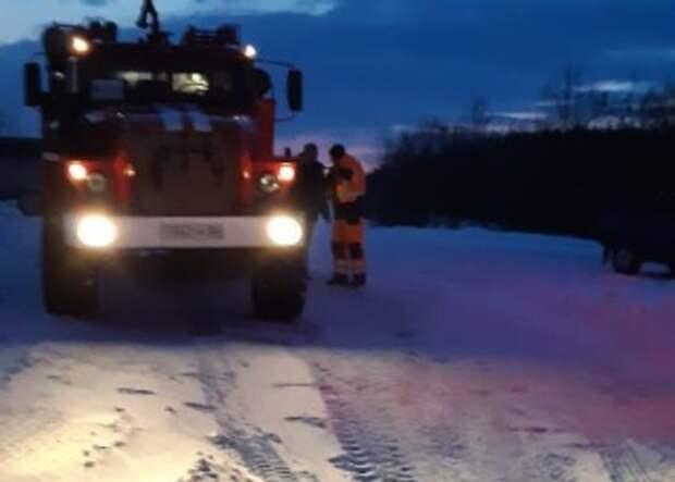 Наоренбургской трассе изснежного плена спасли семь автомобилей